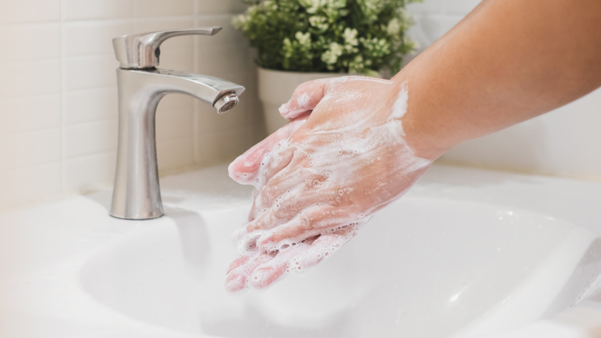 How Hand Washing Kills Germs