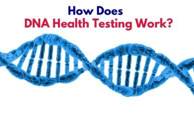 DNA strand for health testing