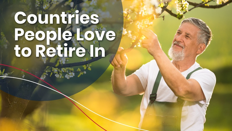 Man in best countries to retire in the world