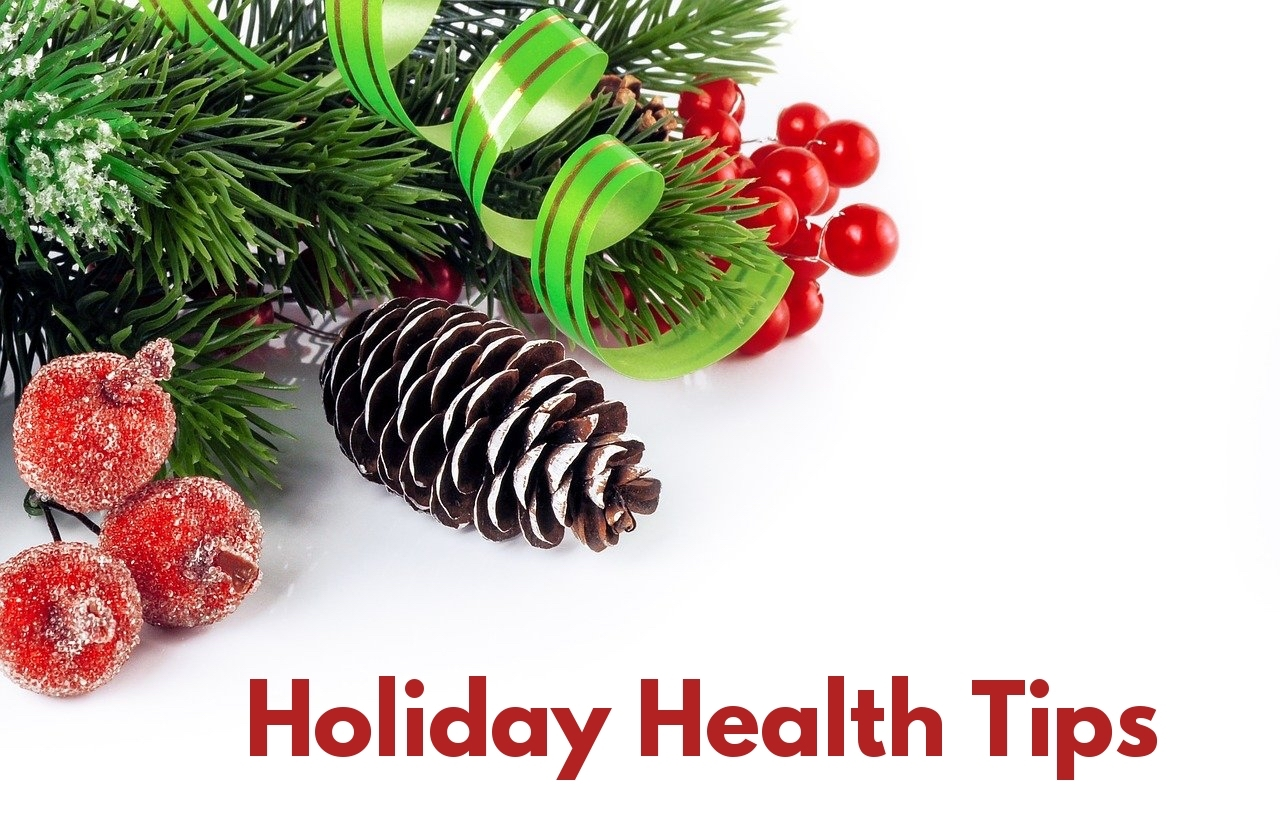 Holiday health tips diet decorations